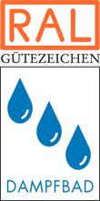 Label-Info: RAL Gütezeichen Dampfbad