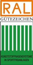 Label-Info: RAL Gütezeichen Kunststoffrasensysteme in Sportfreianlagen