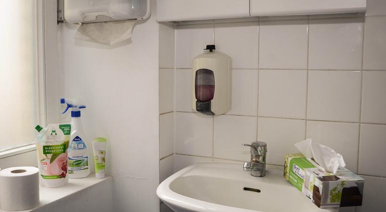 Toilettenbereich